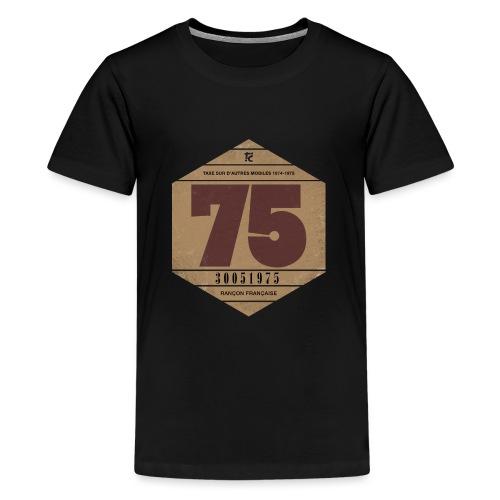 Vignette automobile 1975 - T-shirt Premium Ado