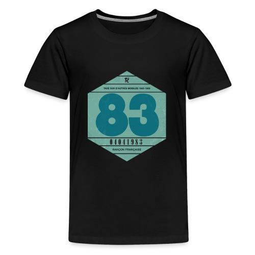 Vignette automobile 1983 - T-shirt Premium Ado