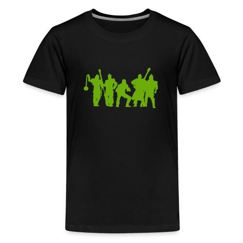 Jugger Schattenspieler gruen - Teenager Premium T-Shirt