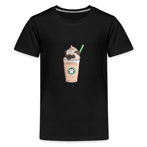 Catpuccino bright - Teenage Premium T-Shirt