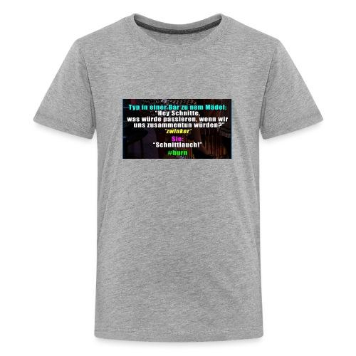SchnitLauch - Teenager Premium T-Shirt
