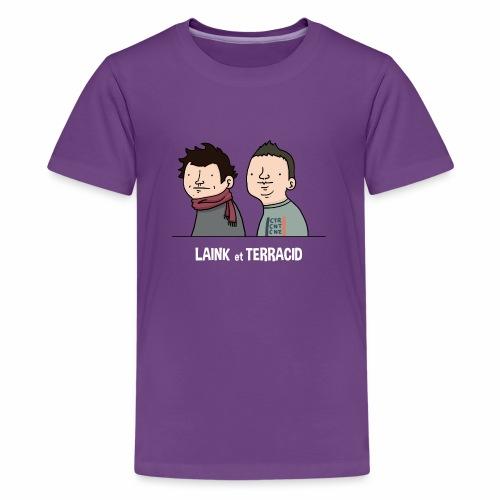 Laink et Terracid old - T-shirt Premium Ado