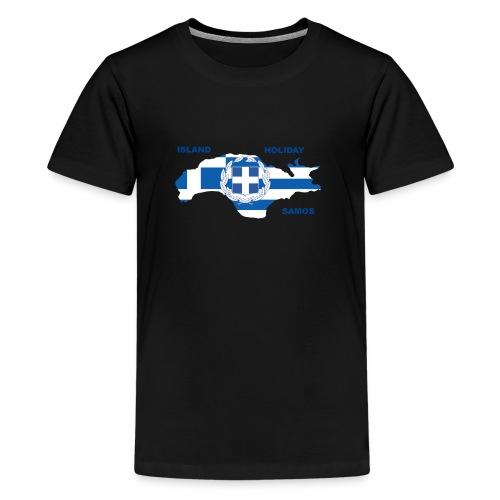 Samos Insel Holiday Ägäis Griechenland - Teenager Premium T-Shirt