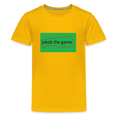 jakob the game - Teenager premium T-shirt