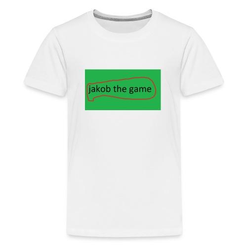 jakobthegame - Teenager premium T-shirt