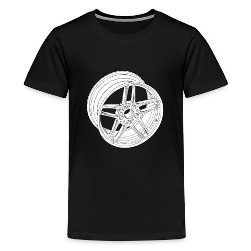 Wheel - Teenage Premium T-Shirt