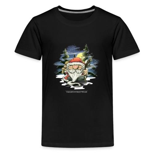 the real santa - Teenager Premium T-Shirt