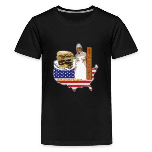 la 66 - Camiseta premium adolescente
