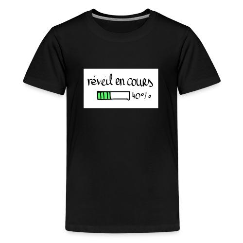 reveil en cours - T-shirt Premium Ado