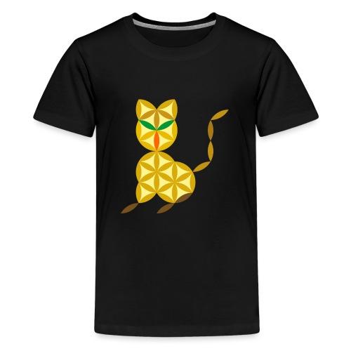 The Kitten Of Life - Sacred Animals - Teenage Premium T-Shirt
