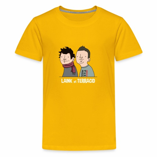 Laink et Terracid - T-shirt Premium Ado