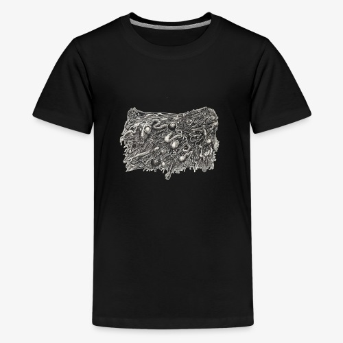 Grotesque No1 by Brian Benson - Teenage Premium T-Shirt