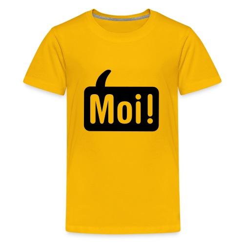 hoi shirt front - Teenager Premium T-shirt