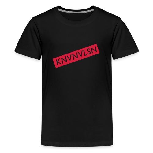 LOGOKNVNVLSN copy - Teenager Premium T-shirt