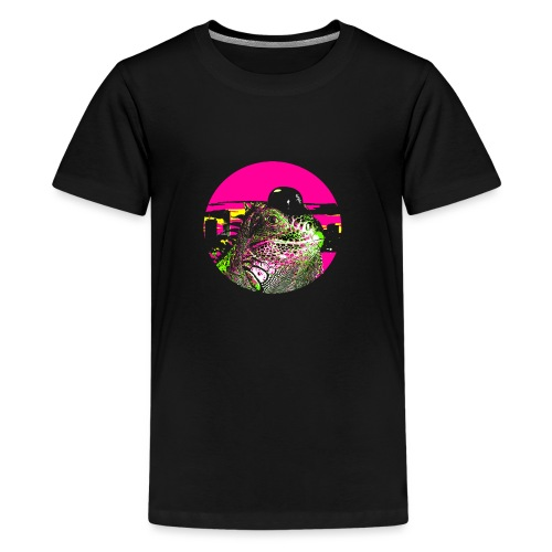 Cityboy Iguana - Teenage Premium T-Shirt
