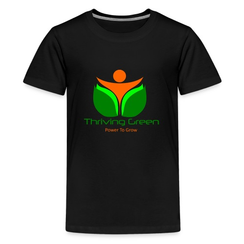 Thriving Green - Teenager Premium T-Shirt
