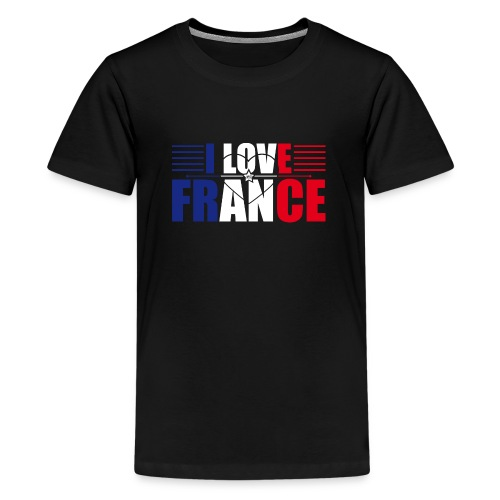 love france - T-shirt Premium Ado