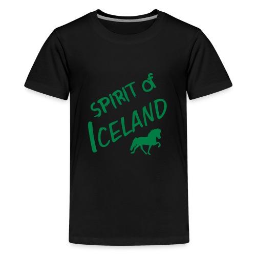 4gaits ruecken - Teenager Premium T-Shirt
