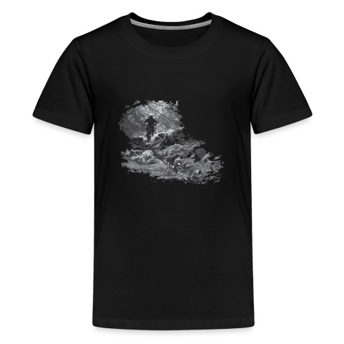 Deep in the Forest - Teenage Premium T-Shirt