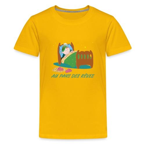 Personnage endormi - T-shirt Premium Ado