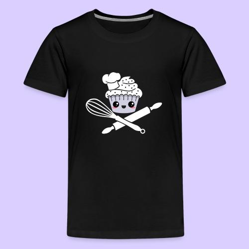 The Pirate Baker - Teenage Premium T-Shirt