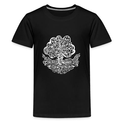 Tree of my Life 2 - Teenager Premium T-Shirt