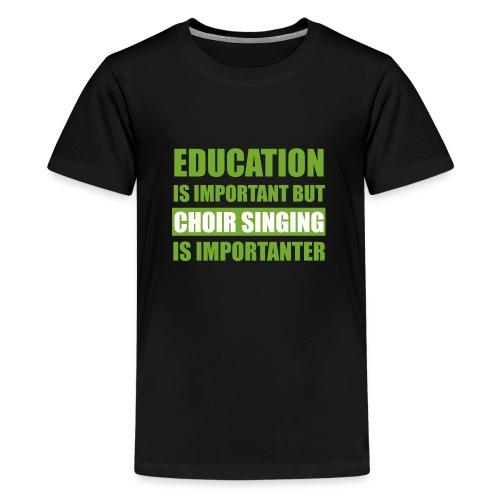educationw - Teenager Premium T-Shirt