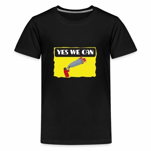 Yes, we can! - tear / Equivoco- strappo - Maglietta Premium per ragazzi