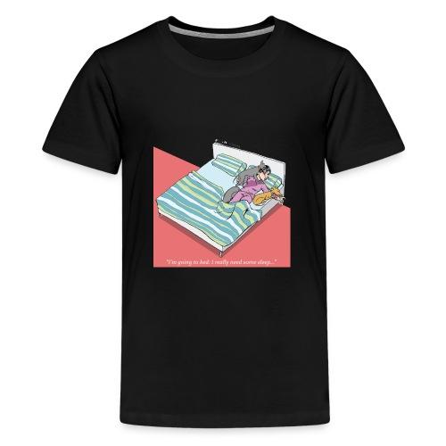 pajama party - Teenage Premium T-Shirt
