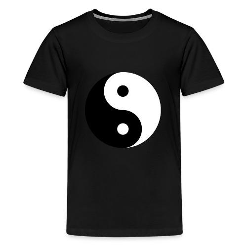 yin & yang - Teenager premium T-shirt
