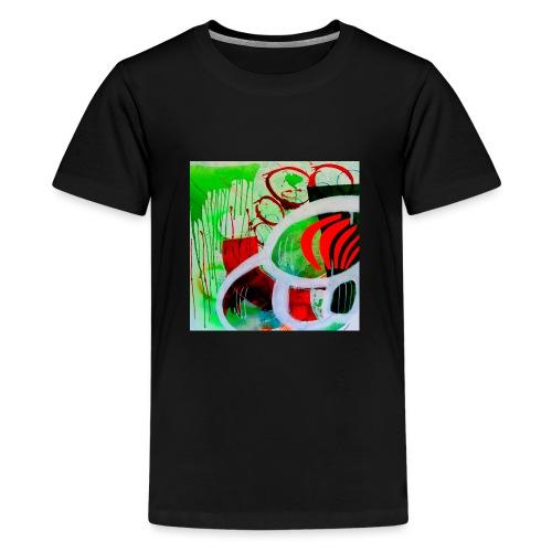 NIZE_art_t-shirt-jpg - Teenager premium T-shirt