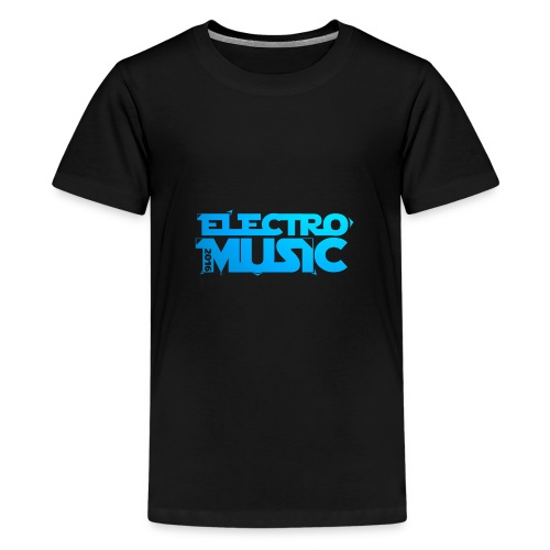 T-Shirt Electro Music Homme - T-shirt Premium Ado