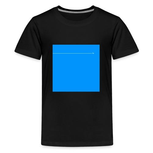 sklyline blue version - T-shirt Premium Ado