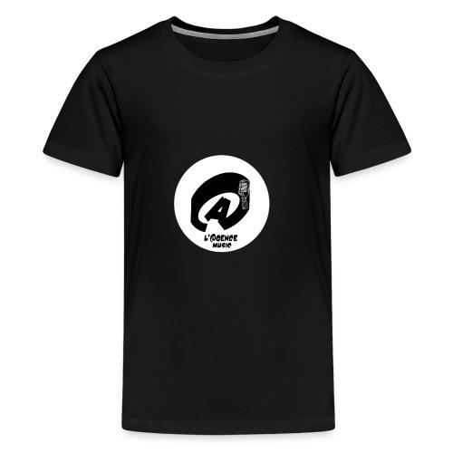 Casquette L'@GENCE MUSIC - T-shirt Premium Ado