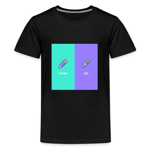 Think & Do - T-shirt Premium Ado