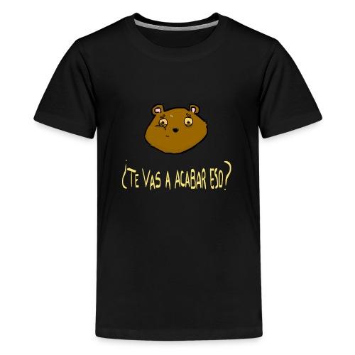 Ardilla glotona - Camiseta premium adolescente