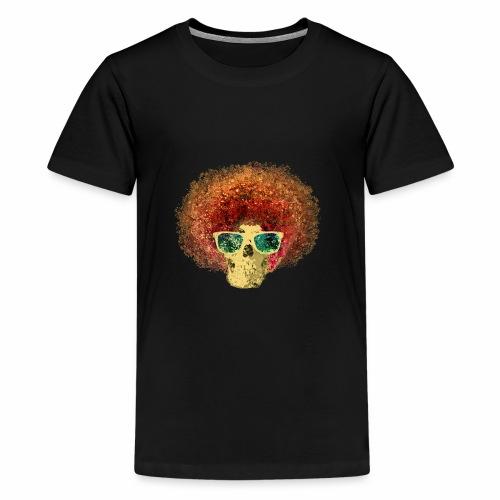 Freaky Skull Vintage - Teenager Premium T-shirt
