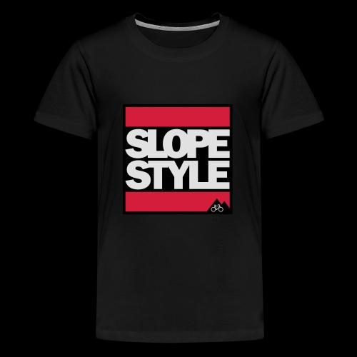 SLOPESTYLE - Teenager Premium T-Shirt