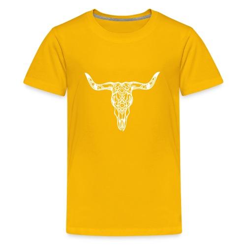 LaBestiaWhiteLogo png - Teenager Premium T-shirt