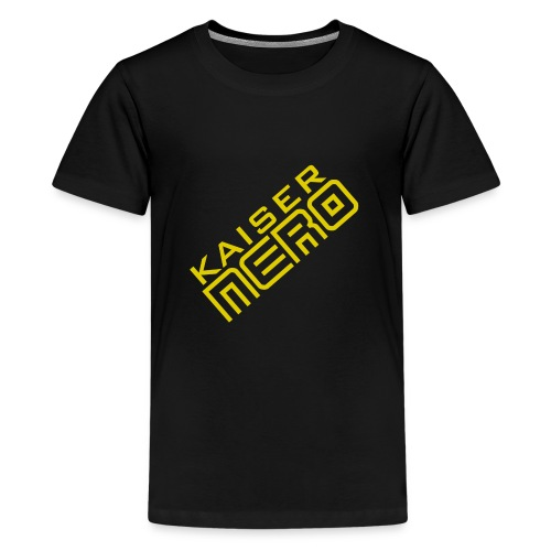 19758 2Ckaiser NERO Logo schraeg Plus - Teenage Premium T-Shirt