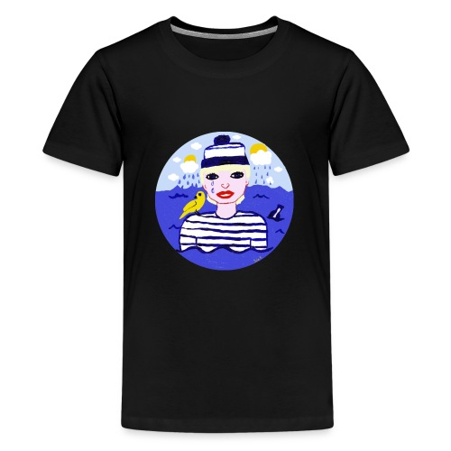 the sailor in love with the sea - Teenager Premium T-Shirt