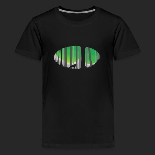 Forest Fox - Teenage Premium T-Shirt
