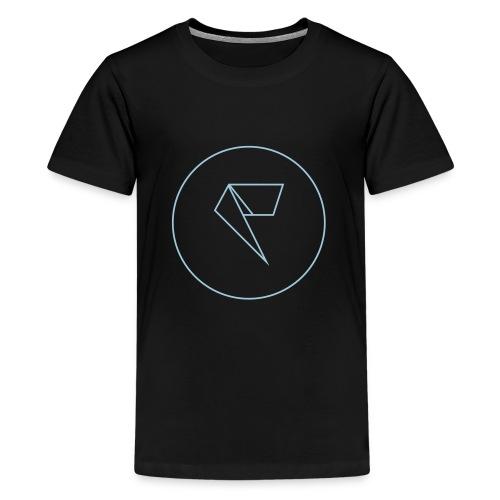 Logo Factornews.com minimaliste - T-shirt Premium Ado