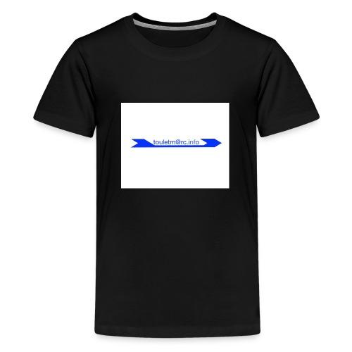 logo touletmarc - T-shirt Premium Ado