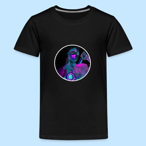 Neon Genji - Teenage Premium T-Shirt