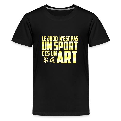 Le T-Shirt du Judoka ! - T-shirt Premium Ado