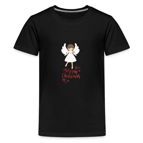 Weihnachtstasse - Teenager Premium T-Shirt