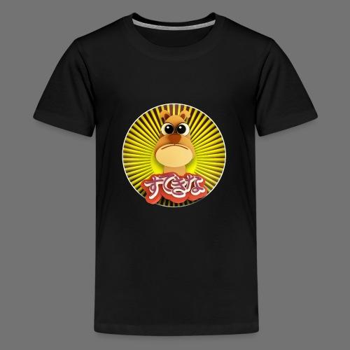 Söpö koira - Teinien premium t-paita