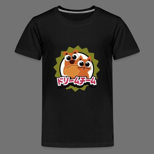Dream Team Koira ja kissa - Teinien premium t-paita