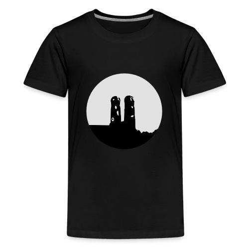30mm 10cm Munich München Frauenkirche Logo - Camiseta premium adolescente